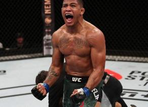Gilbert Burns, retador al título de UFC da positivo a coronavirus