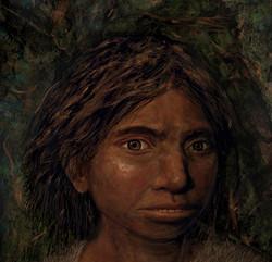 Portrait of a Denisovan Girl