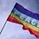 Peace-regnbueflagg