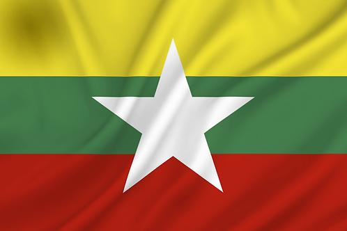 Flagg Myanmar