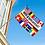 Thumbnail: Bed & Breakfast flernasjonersflagg med 12 nasjoners