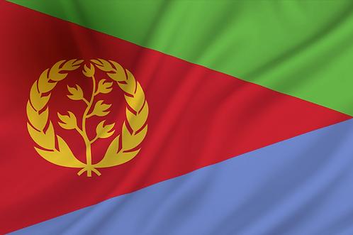 Flagg Eritrea