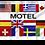 Motel flernasjonersflagg