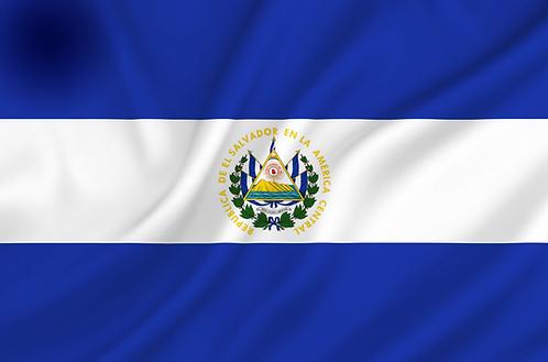 Flagg El Salvador