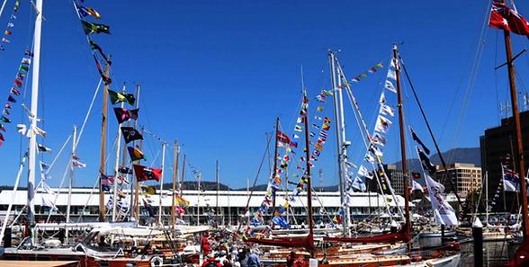 Maritimt, signalflagg, båt, skip, bestemt for kode melding, flaggliner,