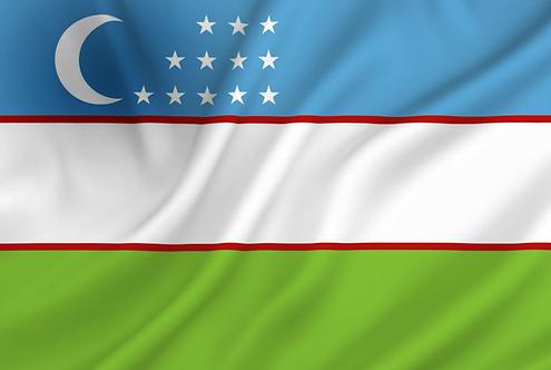 Flagg Usbekistan