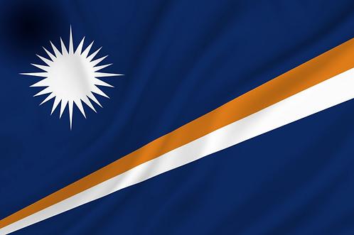 Flagg Marshalløyene