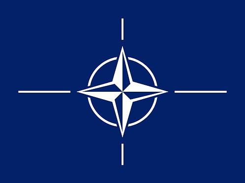 Flagg Det Nordatlantiske Råd N.A.T.O