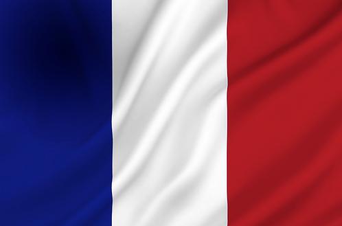 Flagg Frankrike