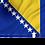 Thumbnail: Flagg Bosnia Hercegovina