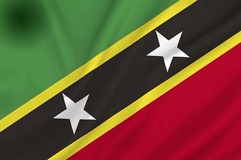 Saint Kitts og Nevis flagg
