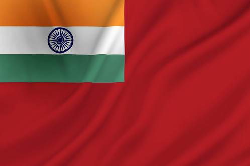 Handelsflagg India