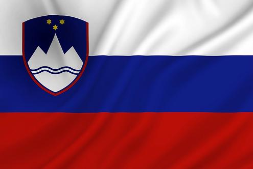 Slovenia flagg