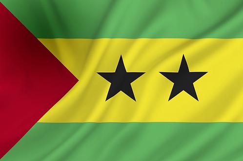 Sao Tome og Principe flagg
