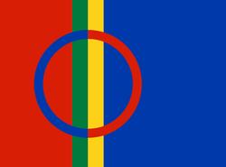 Det samisk flagg