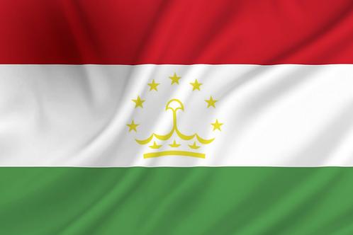 Flagg Tadsjikistan