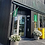 Tourist Information fasadeflagg grønn