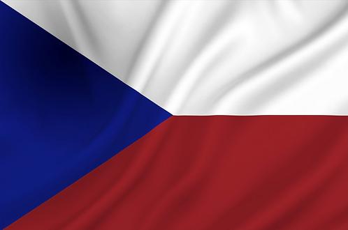Flagg Tsjekkia