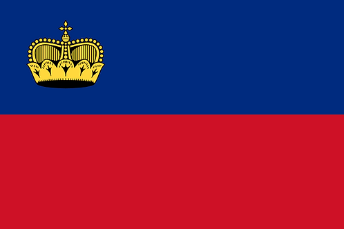 Flagg Liechtenstein