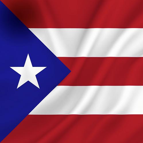Flagg Porto Rico
