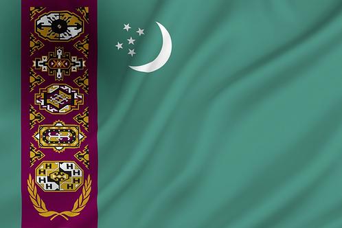 Flagg Turkmenistan