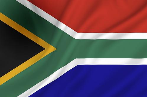 Flagg Sør Afrika