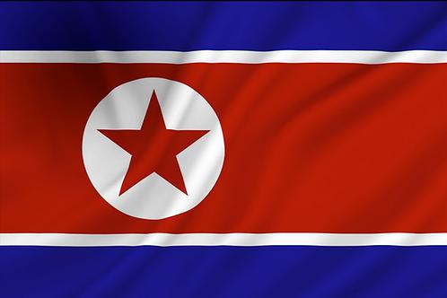 Flagg Korea Nord