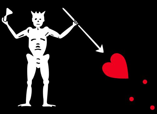 Piratflagg-Edward Teachs