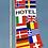 Thumbnail: Hotel flernasjonersflagg med 14 nasjoners