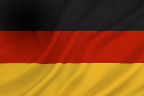 Flagg Tyskland
