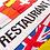 Restaurant flernasjonersflagg