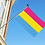 Pansexual flagg