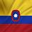 Thumbnail: Handelsflagg Colombia