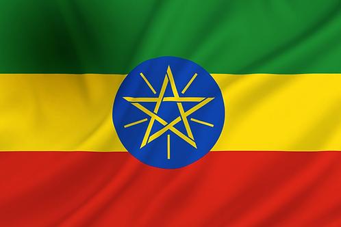 Flagg Etiopia