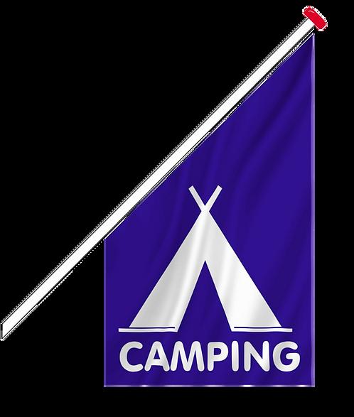 Kioskflagg Camping