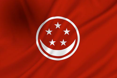 Handelsflagg Singapore
