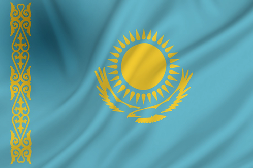 Flagg Kasakhstan