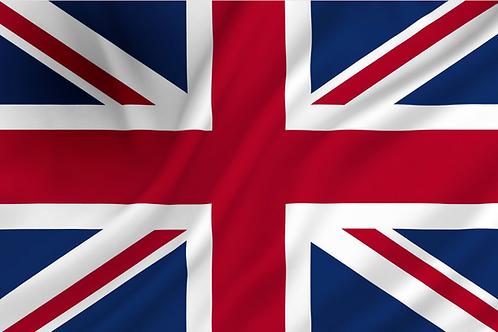 Flagg Storbritannia