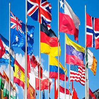 utenlandsk flagg, internasjonalt flagg, verdens flagg, flagg