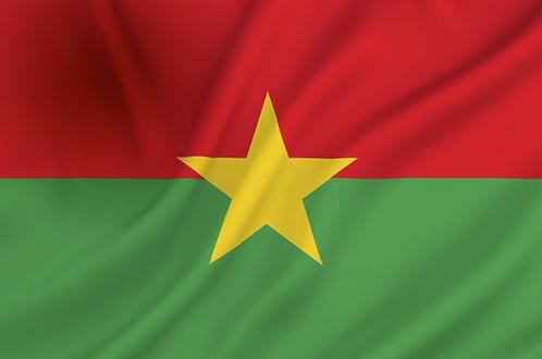 Flagg Burkina Faso