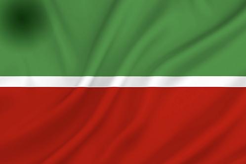 Flagg Tatarstan (republikk i Russland)