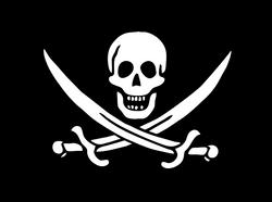 Piratflagg-Jack Rackhams