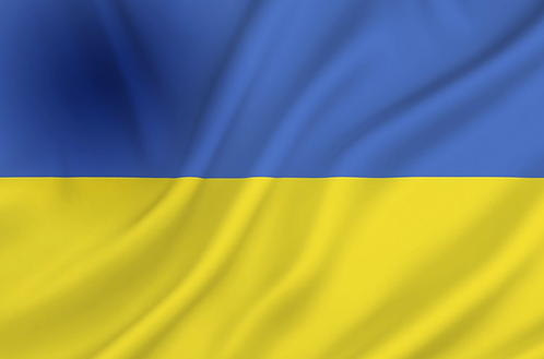 Flagg Ukraina