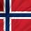 Norsk flagg - flaggbutikk.no