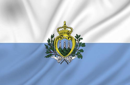 Flagg San Marino