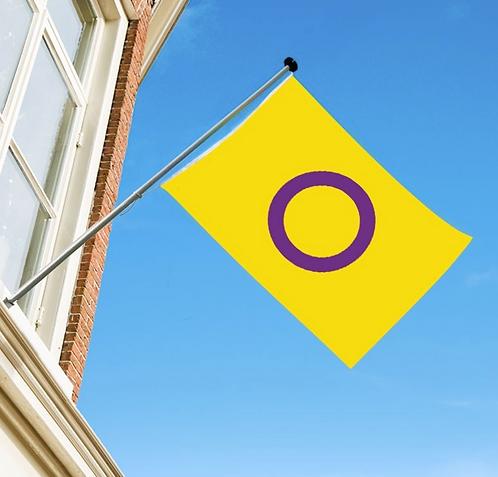 Intersex flagg