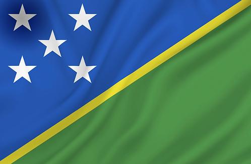 Salomonøyene flagg