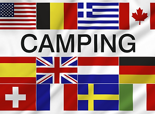Camping flagg