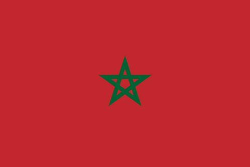 Flagg Marokko