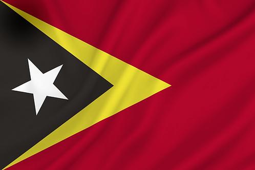 Flagg Øst-Timor